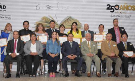 Entrega del Premio Municipal de Educación 2017 en SGS