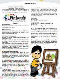 """Concurso pintura """"Pintando mi Centro Histórico"""""""