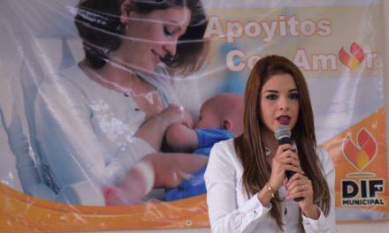 """Apoyan madres primerizas con el Programa """"Apoyitos con Amor"""""""