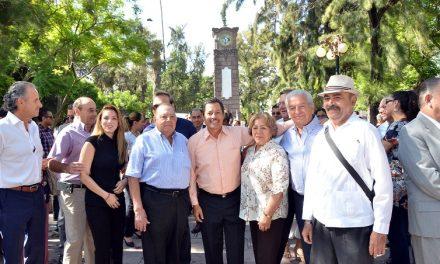 RGJ inauguró la rehabilitación del Jardín Colón