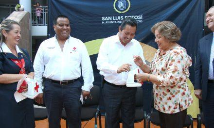 Ayuntamiento se suma a la colecta  de la Cruz Roja