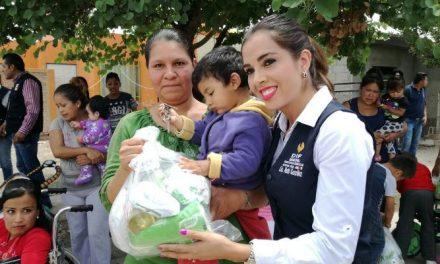 Apoyos diversos a familias vulnerables en SGS
