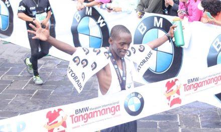 Mandu Francis Oendo ganador Maratón Tangamanga