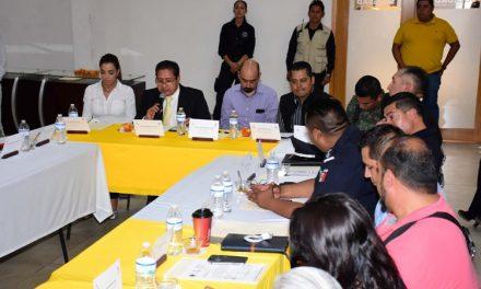 Sesión Consejo de Protección Civil Municipal en SGS