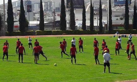 Atlético de San Luis sigue con su preparación