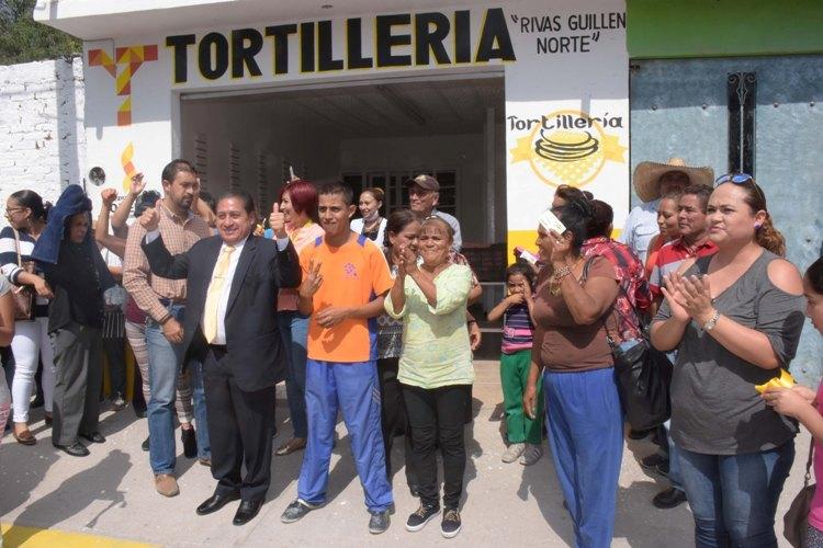 GHV inauguró el primer expendio de tortillas