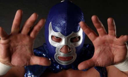 Blue Demon Jr. en lucha Libre FENAPO 2017