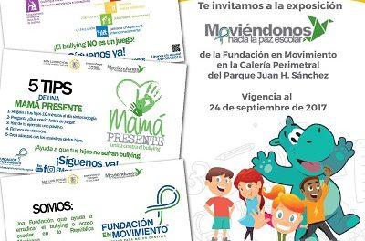 """Exposición  """"Moviéndonos hacia la Paz Escolar"""""""