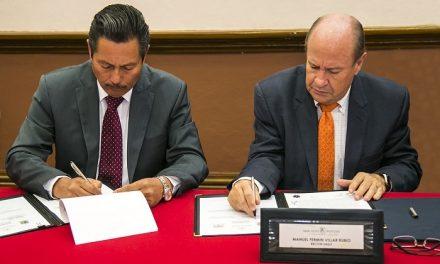UASLP firma convenio con el Ayuntamiento de SLP
