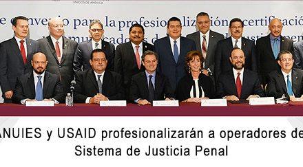 UASLP, SEP, ANUIES y la Embajada EU firman convenio
