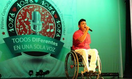 2ª. Concurso Nacional de Canto para Personas con Discapacidad