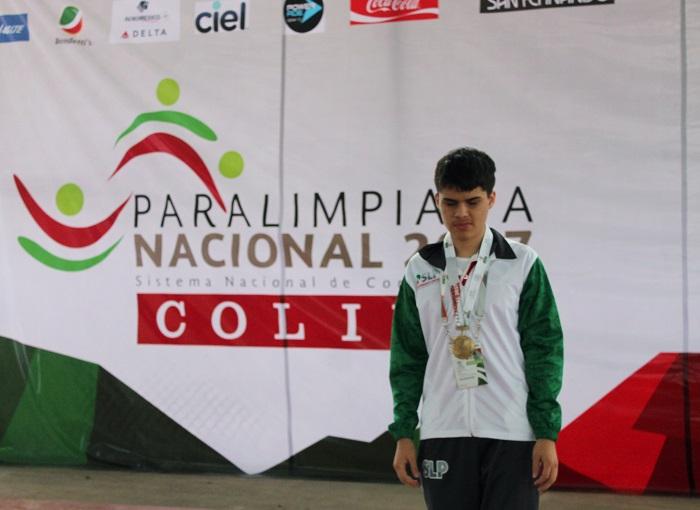 Oro en atletismo para SLP