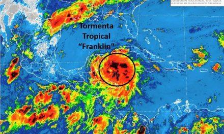 "Alerta por la tormenta tropical ""FRANKLIN"""