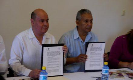 Ayuntamiento y la CEDH firmaron convenio de Colaboración