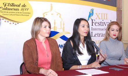 Presentaron Festival de Calaveras 2017