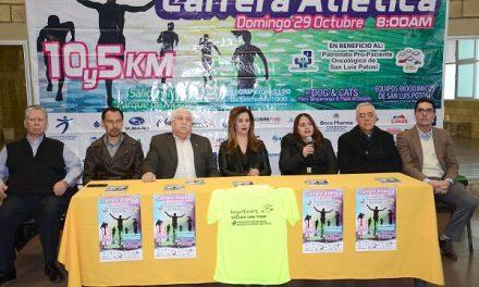Presentaron la Carrera Atlética Pro-Paciente Oncológico