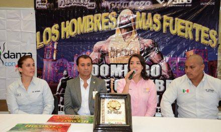 Presentaron Campeonato Hércules Strongman 2017