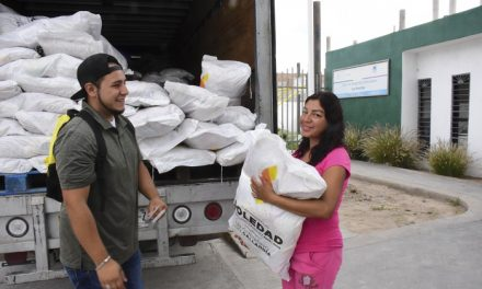 Nueva entrega del Programa Alimentario