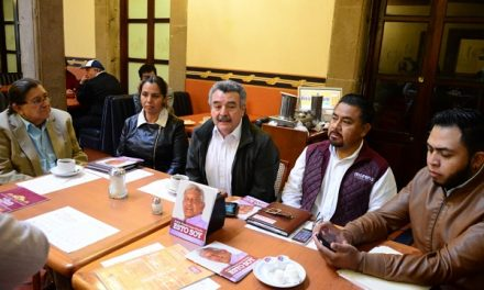 MORENA presenta coordinadores de organización