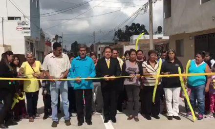 Modernización integral de la Av. Santo Domingo