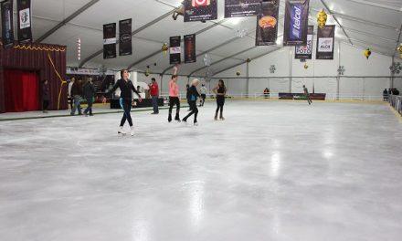 Instalaran pista de hielo en plaza fundadores