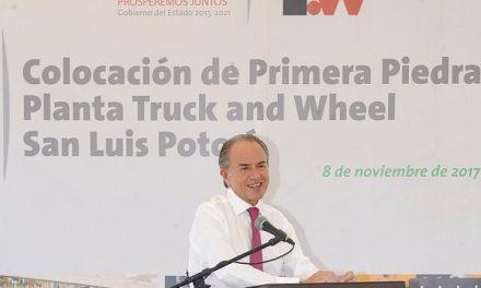 Colocan primera piedad Truck and Wheel SLP