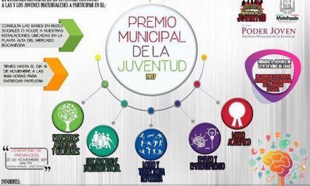 Convocan al Premio Municipal de la Juventud 2017