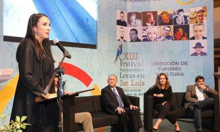 Inicio con éxito XIII Festival Internacional de Letras