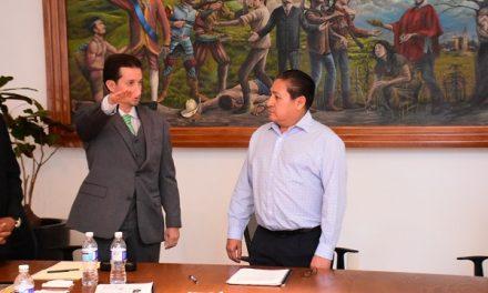 Raymundo González nuevo Secretario General
