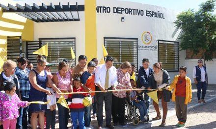 RGJ inaugura el Centro Deportivo Español