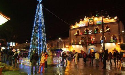 Inician las fiestas decembrinas en Tamazunchale