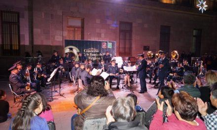 Un éxito Banda de Música de la IV Región Militar