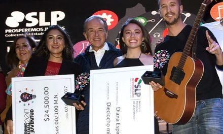 JMCL entrega los Premios Estatales de la Juventud 2017
