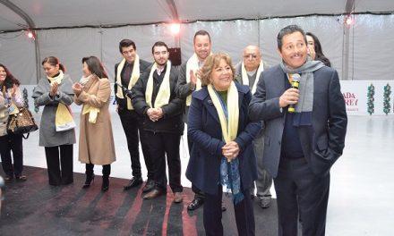 """Ricardo Gallardo inauguró la """"Villa Navideña"""""""