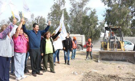 """Construcción del área recreativa """"Puente del Sol"""""""