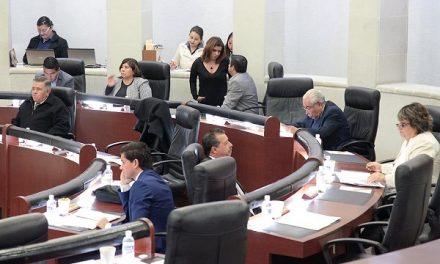 Sesión ordinaria en el Congreso del Estado