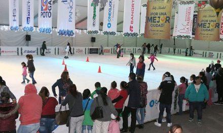 Último fin de semana de la pista de hielo