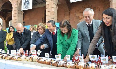 Rosca de Reyes Monumental en SLP