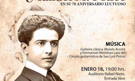 Concierto de aniversario de Manuel M. Ponce