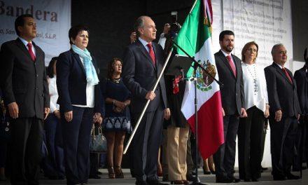 Ceremonia de juramento a la bandera