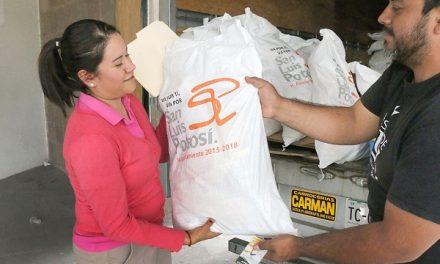 Apoyo alimentario a 45 mil beneficiarios