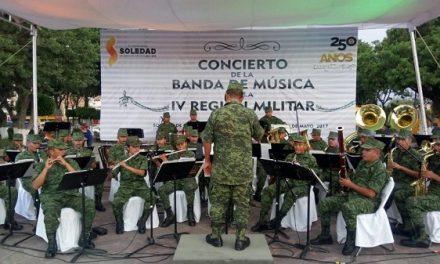 Banda de Música de la IV Región Militar en SGS