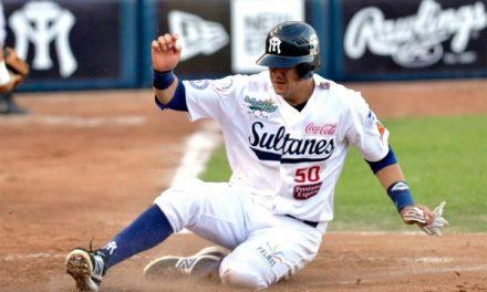 Beisbol profesional Sultanes contra Rieleros