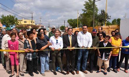 Inauguración pavimentación integral de calles