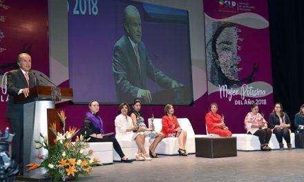 Reconocimiento Mujer Potosina del Año 2018