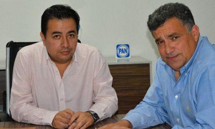 David Medina candidato del PAN en Cd Valles