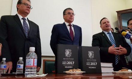 José Luis Ugalde entrega Cuenta Pública 2017