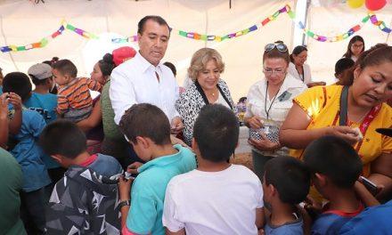 Festejan  a niñ@s  en Peñasco