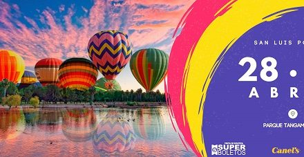 Presentan Tangamanga Balloon Fest 2018