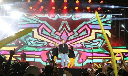 "Rotundo éxito de ""J Balvin"" Festival de la Cantera"